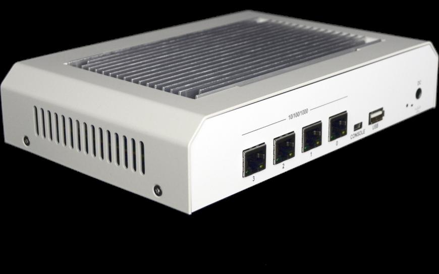 OPNsense A10 Quad Core Desktop Gen2 Rückseite