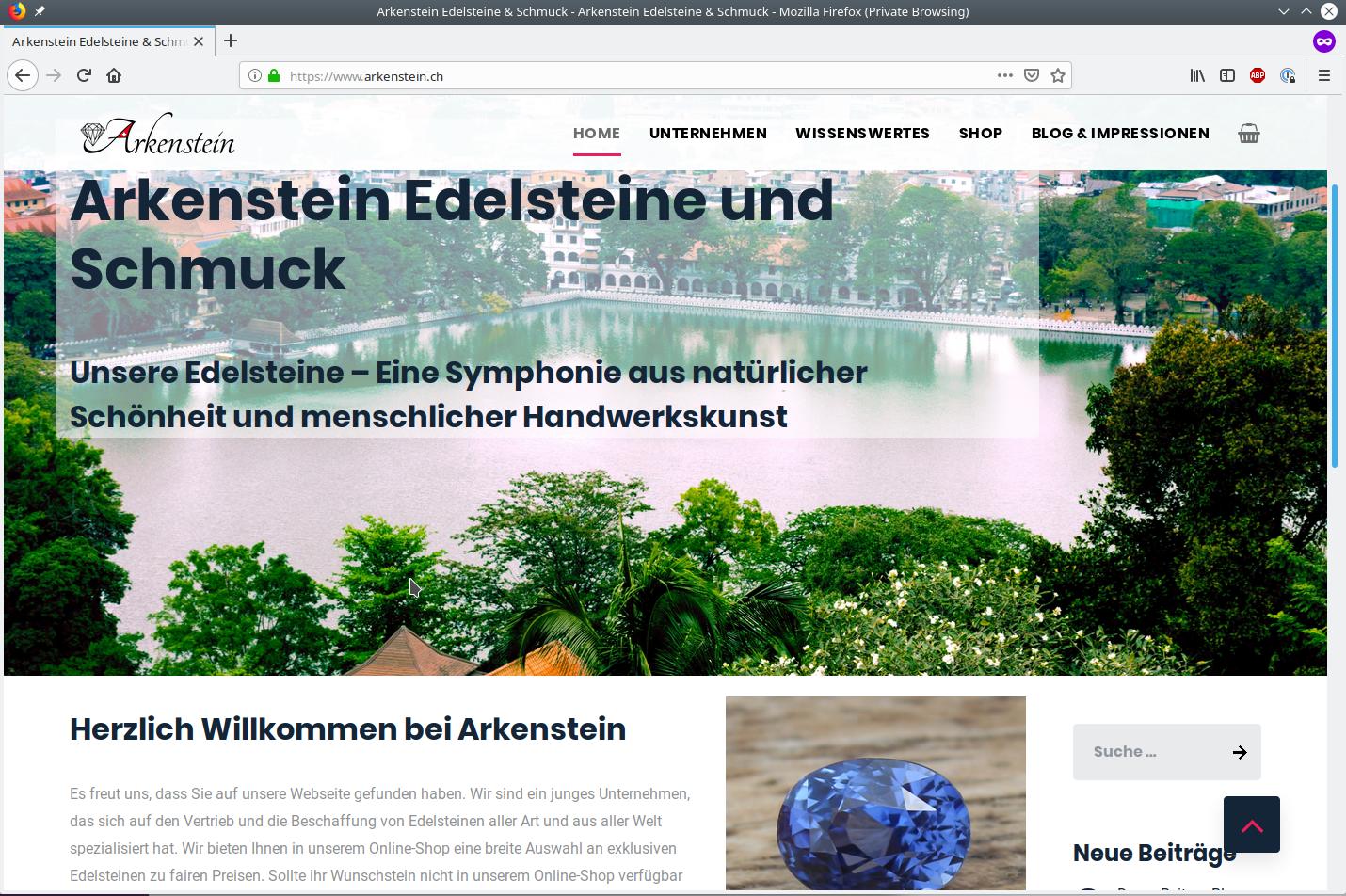 Arkenstein Edelsteine & Schmuck